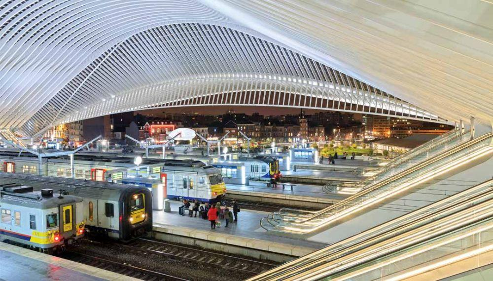 Gare  Guillemins in Liège