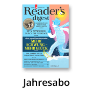 Aktion: Reader's Digest Jahresabo