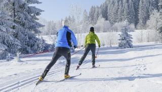 Fit im Winter: Skilanglauf