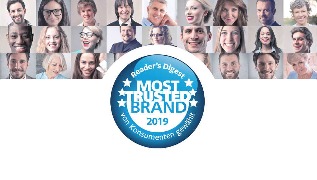 Most Trusted Brands Studie 2019
