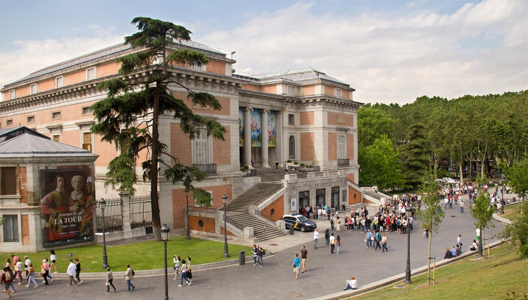 Das Prado-Museum in Madrid